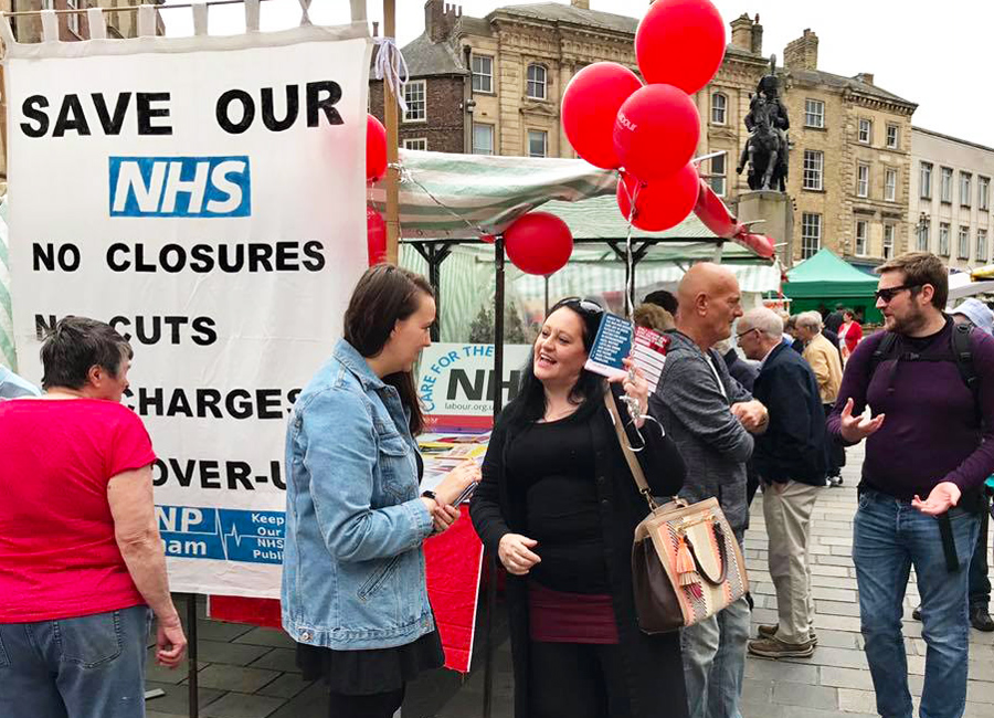 NHS Campaign Day