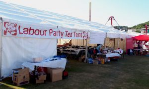 Miners Gala Labour Party Tea Tent