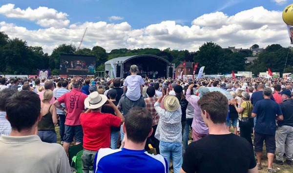 Miners Gala 2018 crowds speeches