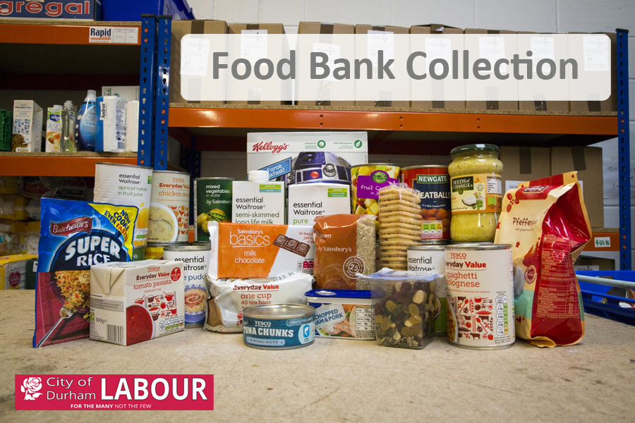 Reverse Advent for Foodbanks
